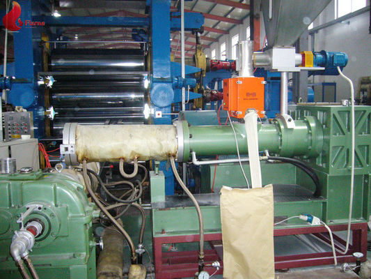 Forming Plastic Extruder Machine For PVC Sheet , 9Cr18MoV 38CrMoAIA